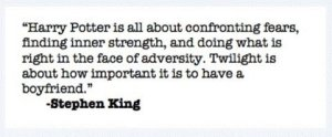 Stephen King Has Spoken!