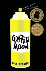Image Description: book cover of Graffiti Moon by Cath Crowley