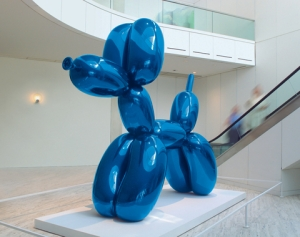 Balloon Dog by Jeff Koons