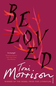 Image Description: book cover of Beloved by Toni Morrison