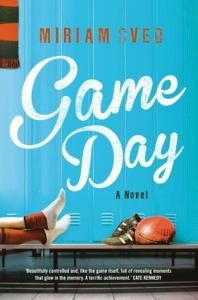 Image Description: book cover of Game Day by Miriam Sved