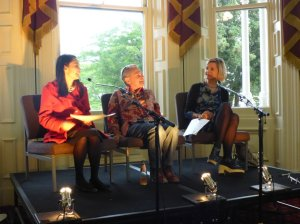 Image Description: From Left to Right; Alice Pung, Bruno Lettieri and Sofie Laguna